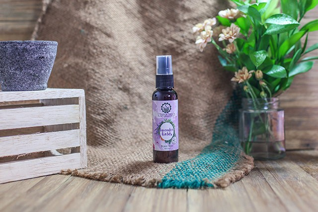 lavender fields body mist
