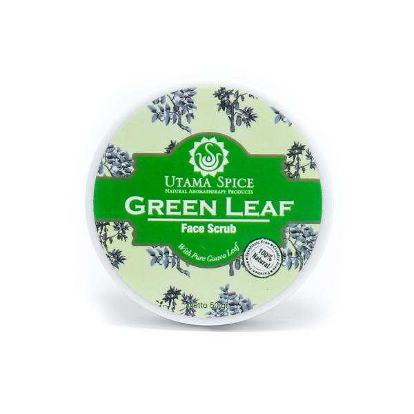 green_leaf_face_mask_white