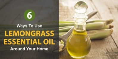6 Ways To Use Lemongrass Essential Oil Around Your Home