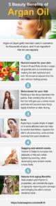 5 beauty benefits ff argan oil infographic