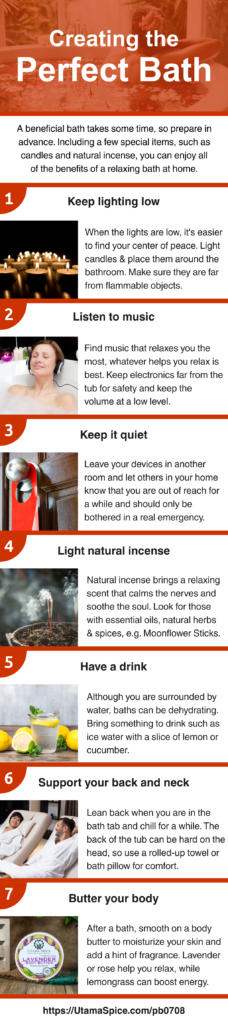 get the most out of bath-time infographic