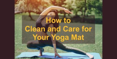 How to Clean and Care for Your Yoga Mat