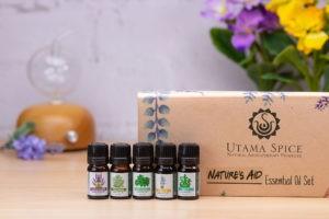 utama spice natures_aid essential oil set
