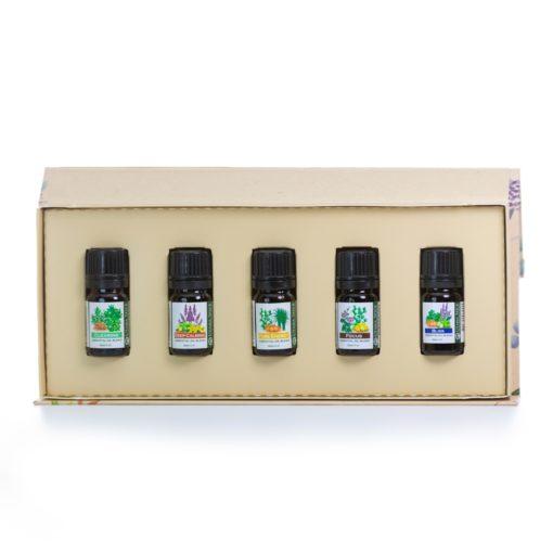 perfect balance essential oil set open white