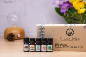 utama spice revival essential oil set