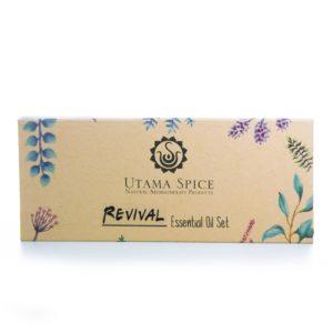 revival essential oil set white