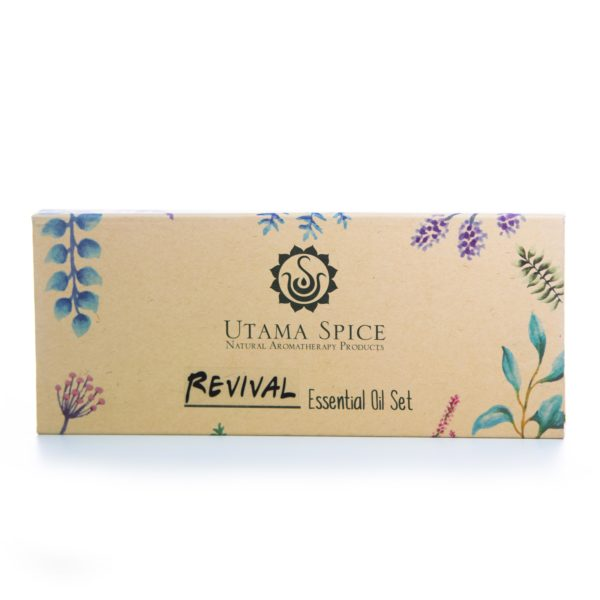revival essential oil set white