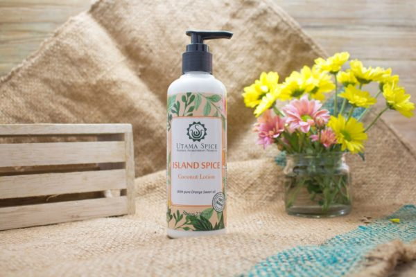 island spice coconut lotion 230ml