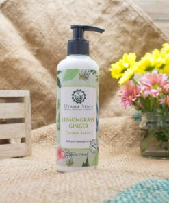 lemongrass ginger coconut lotion 230ml