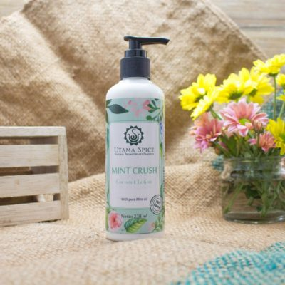 mint crush coconut lotion 230ml