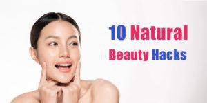 natural beauty hacks header