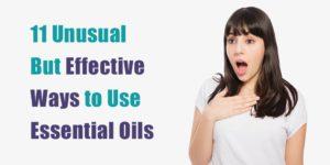unusual essential oil uses header