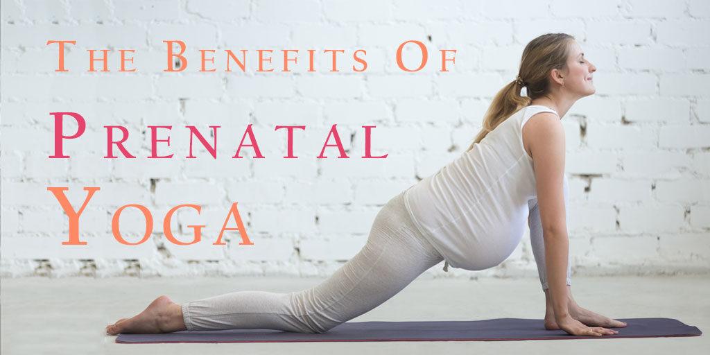 benefits of prenatal yoga header