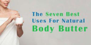 body butter uses header