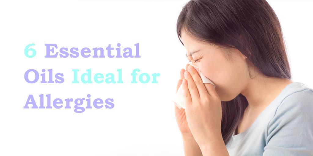 6 essential oils idea for allergies header