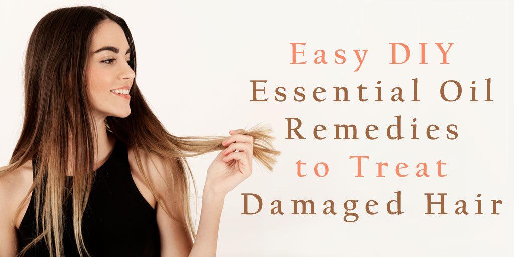 treat damaged hair DIY header