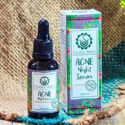 acne night serum
