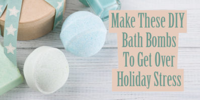 Make these DIY bath bombs To get over holiday stress