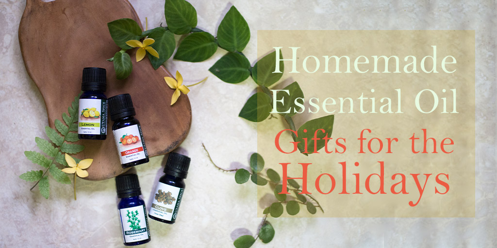 14 homemade essential oil gifts for the holidays