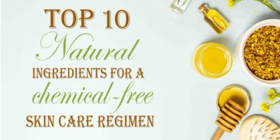 10 ingredients for a chemical free skin care regimen