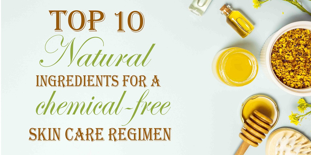 Top 10 Natural Ingredients for a Chemical-free Skin Care Regimen