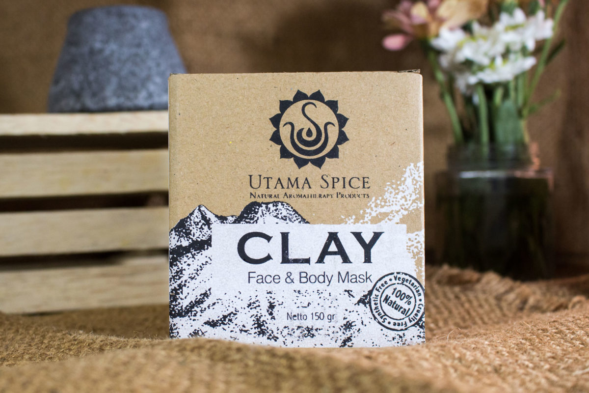 clay for facial mask