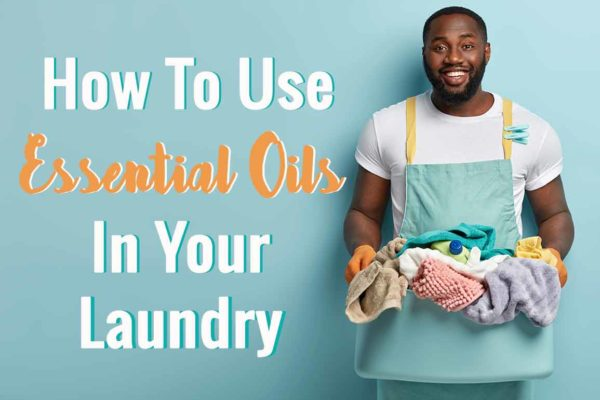young black man doing his laundry